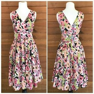 Modcloth Aryeh Floral Dress